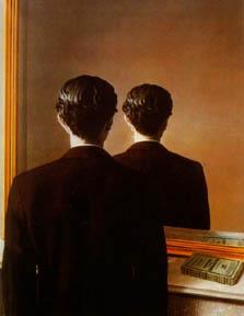 La Reproduction Interdit, 1937, by Rene Magritte
