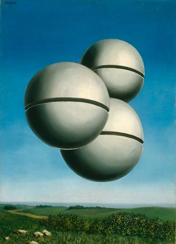 'Voice of Space,' by Rene Magritte