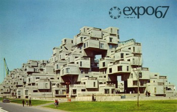 Why build a regular house when you could build this house? Habitat 67, Montreal, Canada