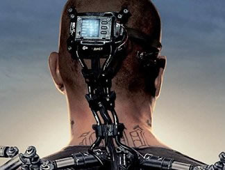 Matt Damon, part machine in Elysium