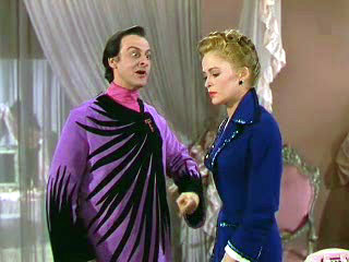 """This makes about as much  sense as that bathrobe."""