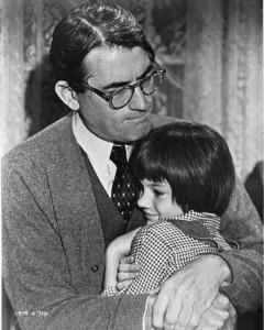 Atticus Finch, famously played by Gregory Peck